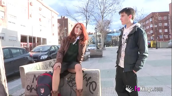 Another rebellious schoolgirl who fucks Jordi just to piss off daddy
