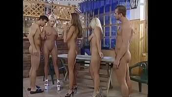 Golden rain in a pissing perverse orgy