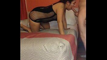 latina lingerie motel fuck