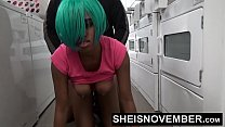 Young Ebony Girl Msnovember Big Ass Anal In Public Laundromat By Rough Stranger
