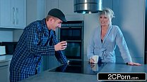 Alessa Savage Takes Hard Ass-Pounding From Stepdad With Her Mom Downstairs