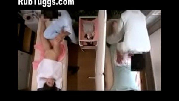 SpankBang mother and daughter get massages together 240p