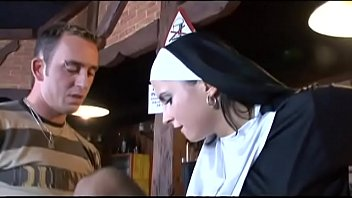 My first time with a real NUN!!! 25 min