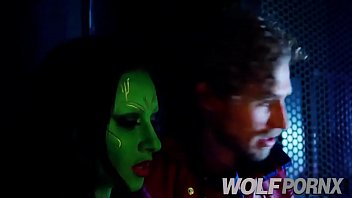 Porn parody of guardians of the galaxy gets horny when star lord begins to fuck