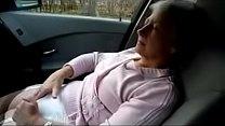 GRANNY MASTURBATING AND ORGASM ON CAR more on http://www.allanalpass.com/CMQ95