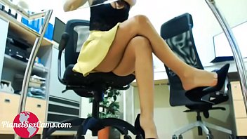 Secretary masturbates in the office I Watch her live at PlanetSexCams.com