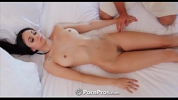 PORNPROS Brunette Ariana Marie hotel vacation fuck and facial
