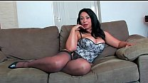 Busty Mature in High Heels and Stockings 15 min