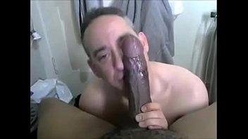 13 Minutes of Eating Black Cum (BBC Worship)