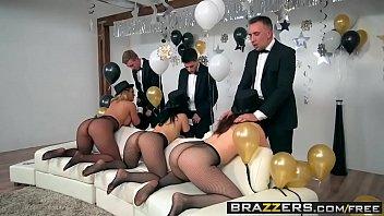 Brazzers - Pornstars Like it Big -  Brazzers New Years Eve Party scene starring Chanel Preston, Kris