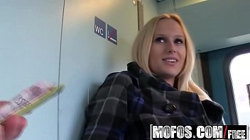 Mofos - Public Pick Ups - Fuck in the Train Toilet starring  Angel Wicky