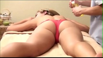 Mother takes Daughter for Massage but she get's m.
