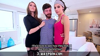 NEUTRE- 3-Way Porn - Threesome for Newbie Actor with Hot Blonde & Petite Brunette 7 min
