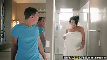 Brazzers - Mommy Got Boobs - Save The Tits scene starring Reagan Foxx and Jessy Jones