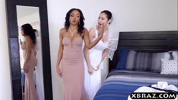 Black maid of honor screws the groom right before marriage
