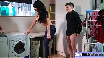 (Valentina Ricci) Hot Big Round Boobs Wife Love Intercorse clip-28