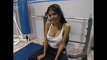 Alexis Amore in Fitness Room - Fucked by stranger