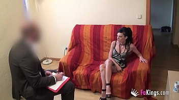 Doctor tries to cure sex addiction but he ends up having a great fucking session with me 26 min
