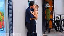 Kissing random babes in public