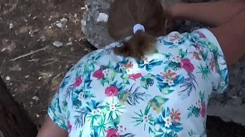 real fuck Blonde mature mom Outdoor bbw ass Web doggy Panties POV cum Public