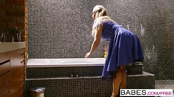 Babes - Step Mom Lessons - Sneaky Boy starring Ella Hughes and Rebecca Moore and Sam Bourne clip 8 min