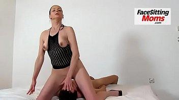Euro MILF Marta high heels stockings and cunnilingus