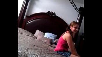 Girlfriend fucked in bedroom