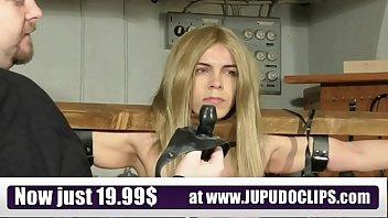 Jupudoclips.com - Slave Training Punishment Blonde Student 4 min