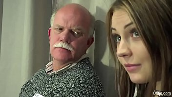Old Young Porn Teen Gangbang by Grandpas pussy fucking fingering gagging