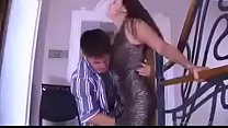 what is the name of the milf   fucked hard on  the stairs by teen