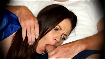 Mom to blowjob when s. on couch