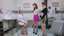 Big boobs doctor anal toys two babes 5 min