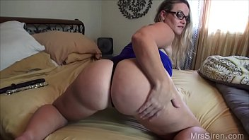 Chubby Wife Fucks Her Ass with Toys