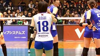PFU 新井 祐喜子 Yukiko Arai  vs 日立 2016.12.04