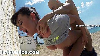 BANGBROS - Franceska Jaimes's Big Spaniard Ass Fucked in Public!