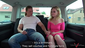 Just divorced crying blonde ride strangers cock to forget bad feelings