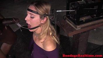 Machine bonded sub throats threeway maledoms