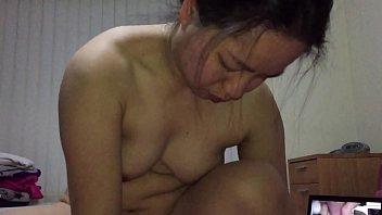 Asian MILF - Fucking 8 inch Dildo