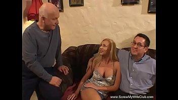 Super Sexy Blonde Swinger Wife