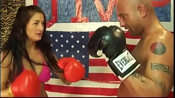 UIWP Entertainment Tina vs Man in Belly Punching Match