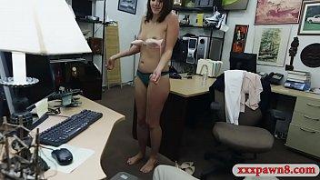 Customers wife smashed by horny pawn man
