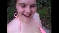 Big Tits Mom Deepthroat Step Son Outdoors & Takes Load To Tits