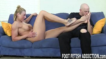 Worship my feet good or you will be punished