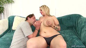 Big tittied blonde Sinful Samia sodomized