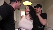 Huge tits alt slave gets anal fucked