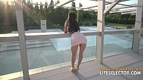 Darcia Lee - Big Boobed Brunette Pleases Her Stepfather