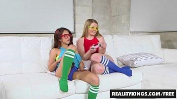 RealityKings - Teens Love Huge Cocks - (Lexxxus Adams) - Nerdy Gamer Hotties 8 min