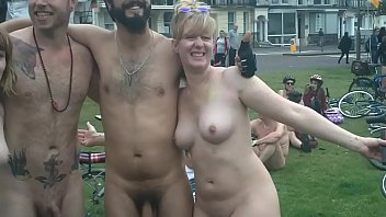 The Brighton 2015 Naked Bike Ride Part2 [Warning Contains Full Frontal Nudity} 3 min