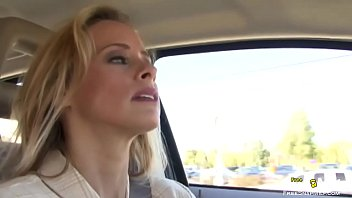 Blonde MILF gets tricked into sex