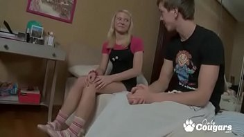 Young Teenie Talked Into Trying Anal For The First Time